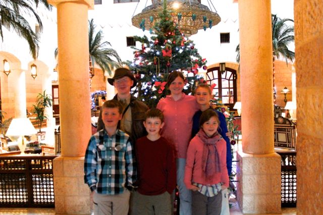 Oh! Christmas tree! In the Hashemite Kingdom of Jordan.