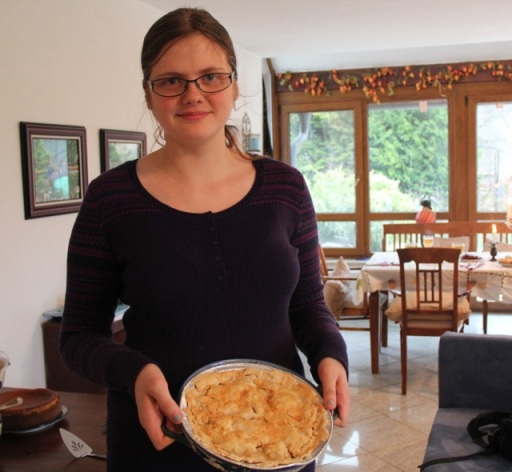 Katie & gluten-free apple pie